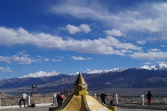 View from Shanti Stupa, Leh